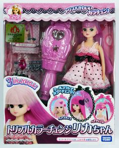 Takara Tomy Licca Doll Triple Color Change Licca Chan (478904) in Dolls & Bears, Dolls, By Brand, Company, Character | eBay