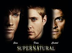 Sam, Dean, & Castiel - Supernatural Wallpaper