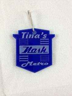 Nash Metro Keychain $6.99 Laser Engraved Gifts, Corporate Awards, Client Gifts, Laser Engraving