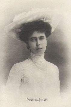 Edinburgh Sisters SpamPrincess Beatrice Leopoldine Victoria (20 April 1884 – 13 July 1966) later Her Royal Highness Infanta Alfonso de Orleans y Borbón after her marriage to Infante Alfonso, Duke of Galliera on the 15th July 1909