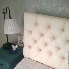 Купить Изголовье для кровати Каретная стяжка в интернет магазине на Ярмарке Мастеров