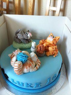 Cat lovers cake