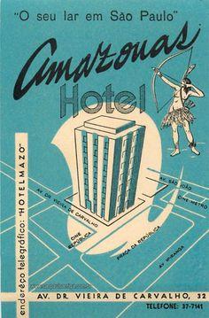 Amazonas Hotel  - São Paulo Antiga