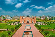 """Lalbagh Fort (Bengali: Lalbag Kella) (also known as """"Fort Aurangabad"""") is an incomplete Mughal palace fortress at the Buriganga River in the southwestern part of Dhaka, Bangladesh. Construct"""