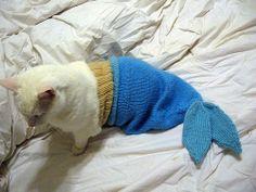 Baby Mermaid Costume - Crochet Photo Props! Buy it or make it!