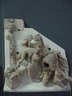 Terracotta architettonica dalla Domus di Medea, area archeologica di Poggiarello Renzetti. II secolo a.C.