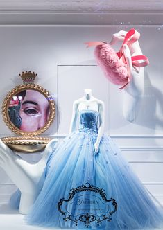 Cinderella windows at TSUM, Moscow, 2015