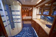 Compact Bathroom In Luxury Caravan