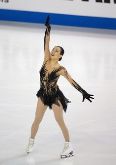 Mao Asada of Japan competes in the ladies short program at 2016 Progressive Skate America on October 21, 2016 in Chicago, Illinois. (Oct. 20, 2016 - Source: Tasos Katopodis/Getty Images North America) (719×1024)