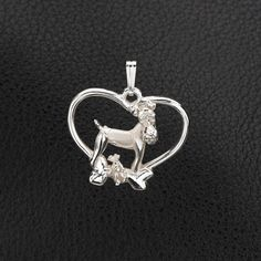Sterling Silver Wire Fox Terrier Pendant with Chain. 25% off through May 10th.  Apply Coupon MOTHERSDAYOFF25 at register