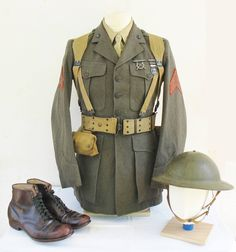 Early WW II Marine Corps Uniform. Visit www.Diamondbackgraphics.etsy.com for military rifle/pistol and 2A decals .