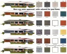 Fantastic 1000 Images About Exterior Paint Schemes On Pinterest Spanish Ranch Style Home Exterior Colors