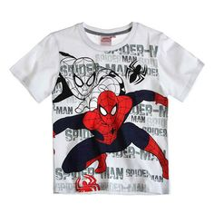 This is an officially licensed Ultimate Spider-Man T-Shirt.