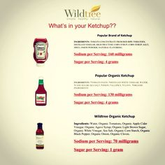 What's in YOUR ketchup? Ask me about a healthier version of this kids' staple! www.mywildtree.com/feedthesoul