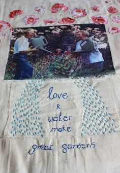 Dr Neils's Garden ' Love and Water make great gardens' by Hazel Terry