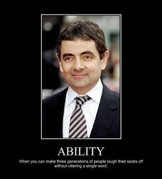 Rowan Atkinson- Perhaps the most TALENTED comedian and comedic actor ever born!!!!!!!!!!