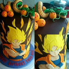 Dragon Ball Z Cake Decorating Kit : Dragon Ball Z cake Dragonball Z Birthday Party Ideas ...