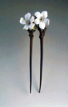 Art Nouveau Hair pin by Lucien Gaillard ca.1905