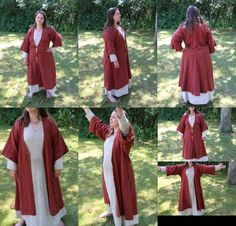 Linen coat (Iron age/Anglosaxon/Early viking) Hand sewn by Henrik Nordholm.  https://www.facebook.com/pages/Henrik-Nordholm/254634504677319?ref_type=bookmark
