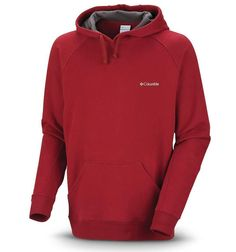 Just $34.99 !! Columbia Hart Mountain II Hoodie Men's MED NEW/NWT Garnet Crimson Red $60 RET #Columbia #Hoodie