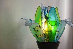 lampada stagno incantato/ papere duck di fiorediluce su Etsy