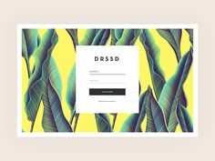 DRSSD login by Tom Arends