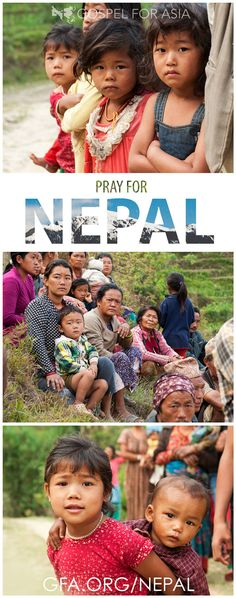 """""""It is not easy to describe the pain that people in Nepal must be going through now… Nepal is a nation living in tears,"""" said a GFA-supported pastor. Millions of lives were forever altered when the earthquake struck Nepal more than two weeks ago. More than 1,000 people have received aid, but thousands are still desperate for food and relief. Join us in prayer for Nepal: http://www.gfa.org/earthquake/nepal/?motiv=WB54-PNER&cm_mmc=Pinterest-_-WM-_-PhotoLink-_-NepalEarthquake #PrayForNepal"""