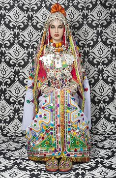 Moroccan bride from Sousse