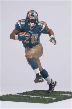 Marshall Faulk (St. Louis Rams) NFL Series 2 McFarlane e0f7303de