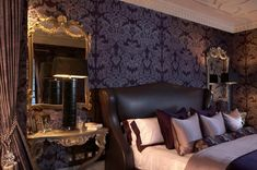 Gothic mirror bedroom furniture