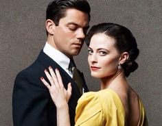 Lara Pulver and Dominic Cooper The Man That Would be Bond Ian Fleming