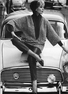 Black And White Fashion Photography in the 60's by John French – Fubiz Media