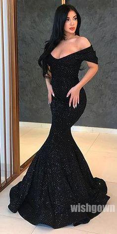 Romantic Long Sleeves Off the Shoulder Lace A Line Black Prom Dresses, Black Wedding Dresses, Cheap Prom Dresses, Ball Dresses, Ball Gowns, Dresses Dresses, Pretty Dresses, Beautiful Dresses, Strapless Dress Formal, Formal Dresses