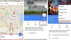 Google maps offline: download Maps, Technology, Google, Tech, Blue Prints, Tecnologia, Map, Cards