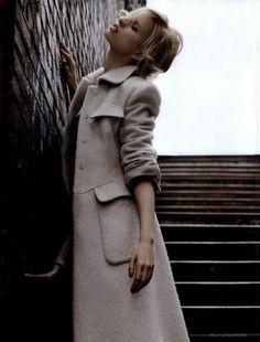 Karolina Kurkova in Vogue UK