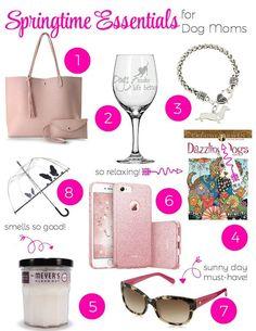 Springtime Essentials for Dog Moms