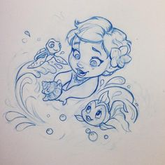 Beautiful sketches illustration by Nicole Lee Anne