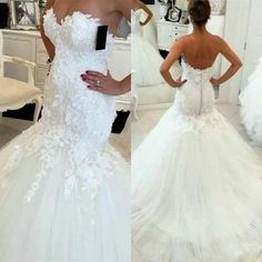 fb7e7911dd3fa Mermaid lace Wedding Dress at Bling Brides Bouquet online Bridal Store