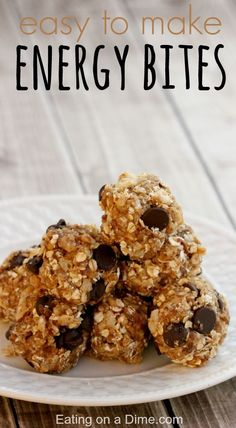 Oh you have to try these Quick and Easy Energy Bites Recipe - ready in 5 minutes!
