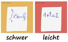 schwer - leicht - Adjektive - Deutsch Adjektive - deutsche Adjektive - Adjektive Deutsch - Adjektive Übungen - Adjektive Bilder
