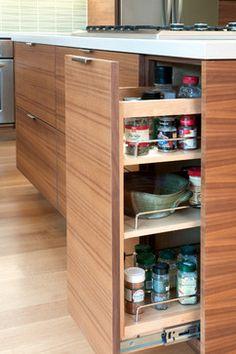 houzz kitchen contempoary tab pulls   Bloom 1 - modern - kitchen - san francisco - by Danielle Grenier