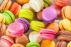 traditional colorful french macarons are sweet meringue-based confection. Sugar And Inflammation, Share Pictures, French Macaroons, Macaroon Recipes, Sugar Intake, Food Wallpaper, Sugar Cravings, Cookie Desserts, Desktop