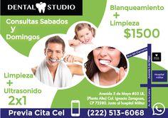Flyer dental dentista dental Studio
