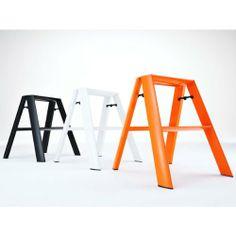 Amazon.com - Hasegawa Kogyo (HASEGAWA) aluminum stool 2-(2-step) lucano (Lugano) Orange ml-2 (OR) -
