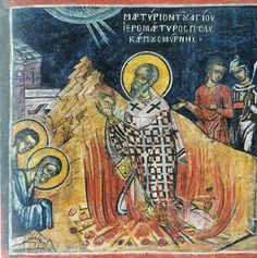 The Martyrdom of Polycarp of Smyrna, disciple of John the Apostle