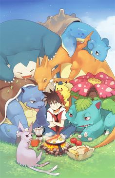 Kissai, Pokémon SPECIAL, Pokémon, Espeon, Venusaur, Pikachu