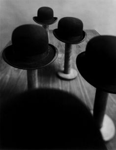 Take your hats off please. Hat stands