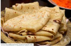 How to make the easiest roti recipe from scratch. Roti Recipe Easy, Roti Recipe Indian, Chicken Roti Recipe, Baked Chicken, Soft Chapati Recipe, Chicken Recipes, Roti Bread, Make Naan Bread, Rumali Roti