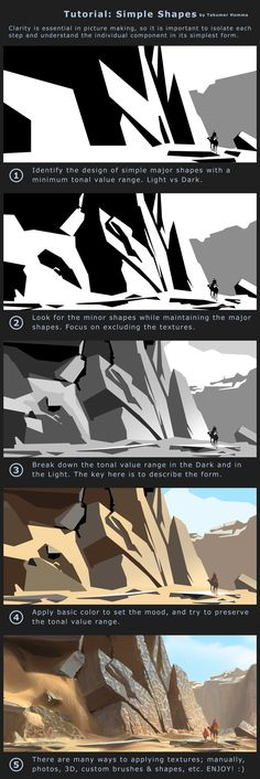 Tutorial: Simple Shapes by Takumer.deviantart.com on @DeviantArt