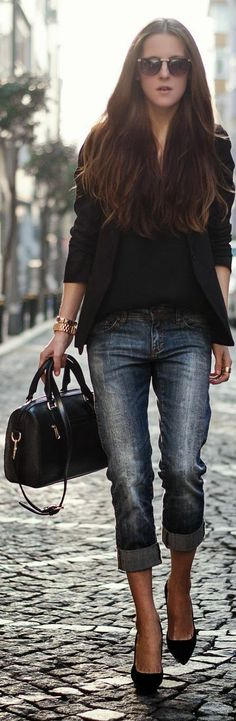 Nice upscale casual outfit WE DELIVER JEANS- you make them fashion